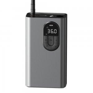 Автомобильный насос Baseus Energy Source Inflator Pump Tarnish серый (CRCQB02-0A)