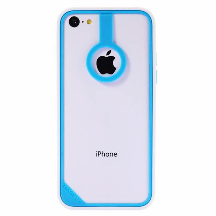 Бампер Baseus New Age голубой + белый для iPhone 5C