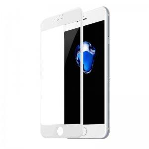 Защитное стекло Baseus All-screen Arc-surface 0.3мм, белое для iPhone 7/8