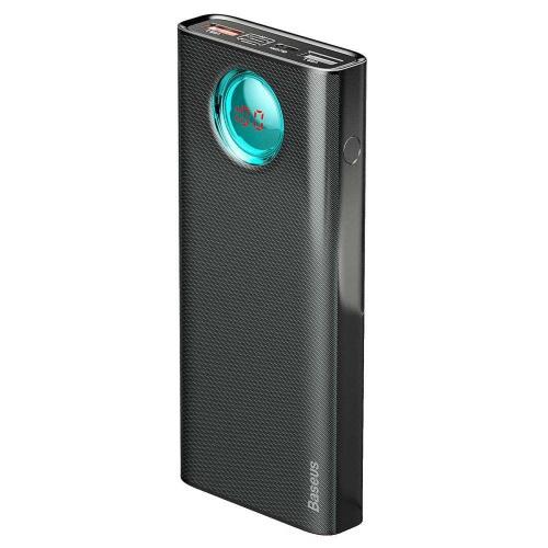 Портативный аккумулятор Baseus Amblight Quick Charge & Large Power Digital Display Power Bank 33W (PD3.0+QC3.0) 30000mAh чёрный