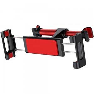 Автомобильный держатель для плашета Baseus Back Seat Car Mount Holder красный + черный