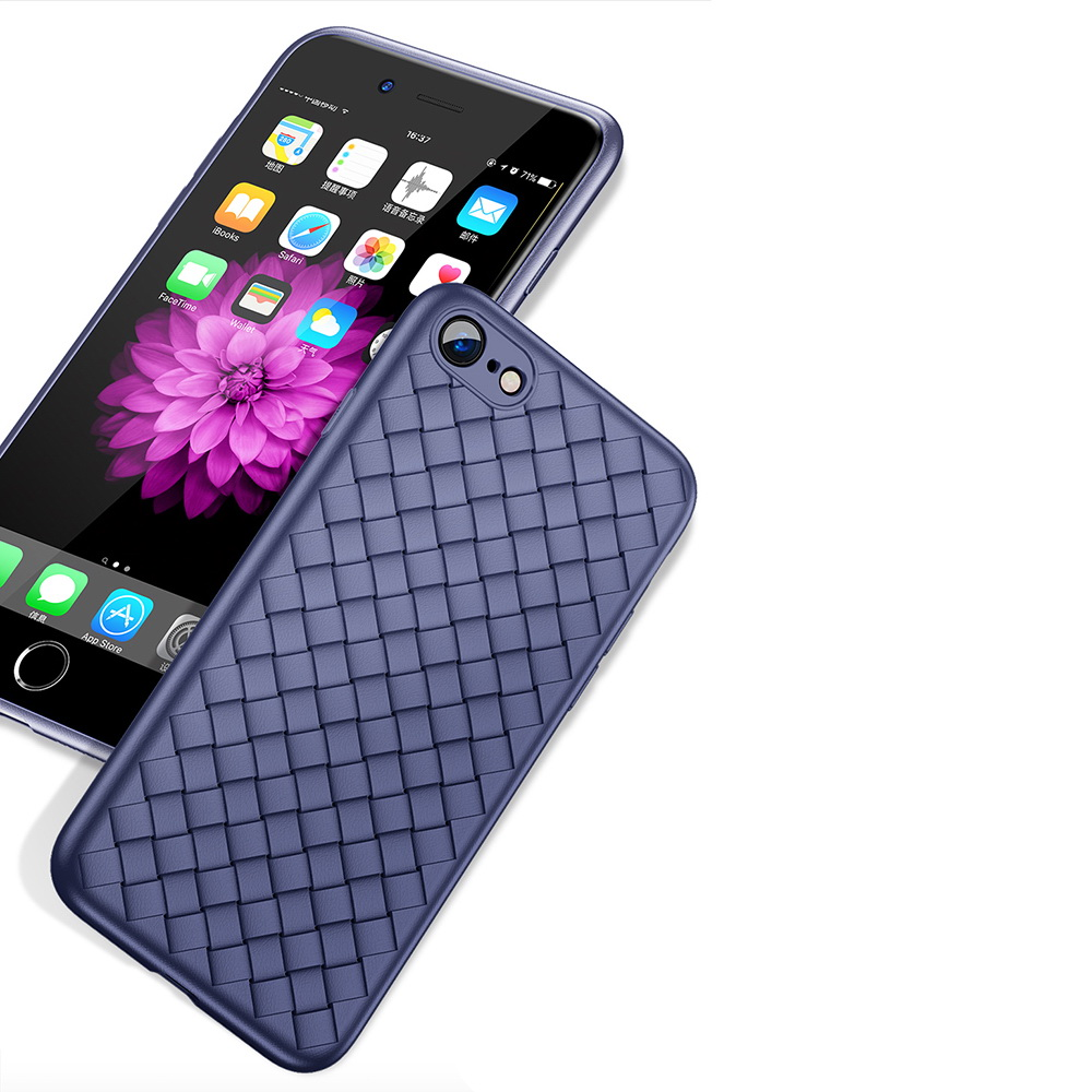 3D чехол Baseus BV Weaving синий для iPhone 6/6S