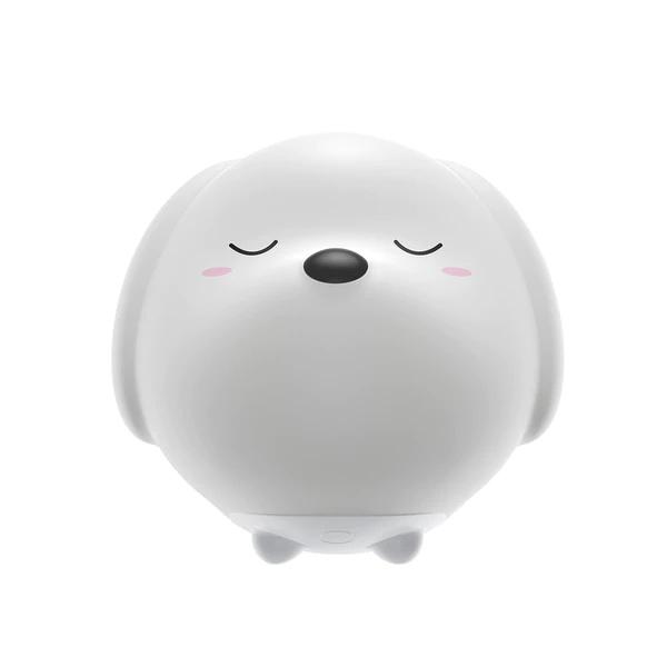 Ночник Baseus Cute Series Doggie Silicone Night Light белый