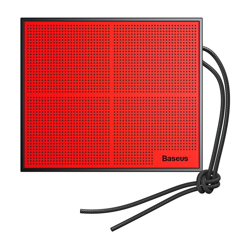 Портативный спикер Baseus Encok Music-Cube Wireless Speaker E05 красный + чёрный