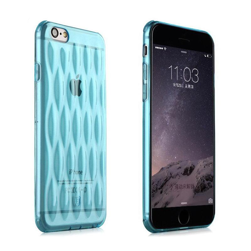 Чехол Baseus Air bag голубой для iPhone 6/6S