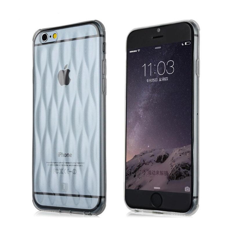 3D чехол Baseus Air bag прозрачный для iPhone 6/6S