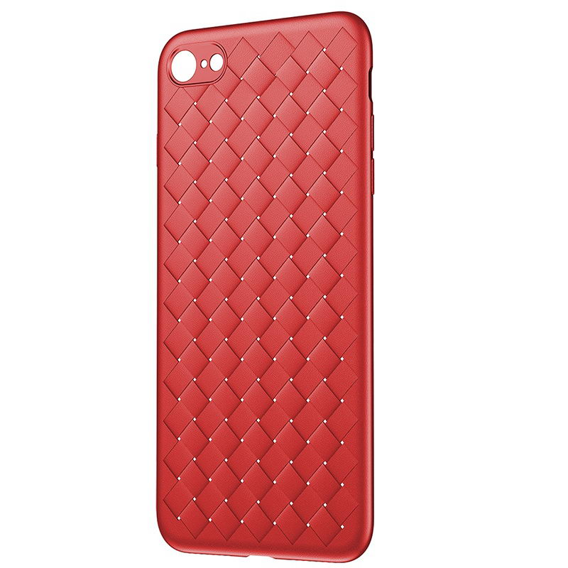 Чехол Baseus BV Weaving красный для iPhone 7/8/SE 2020