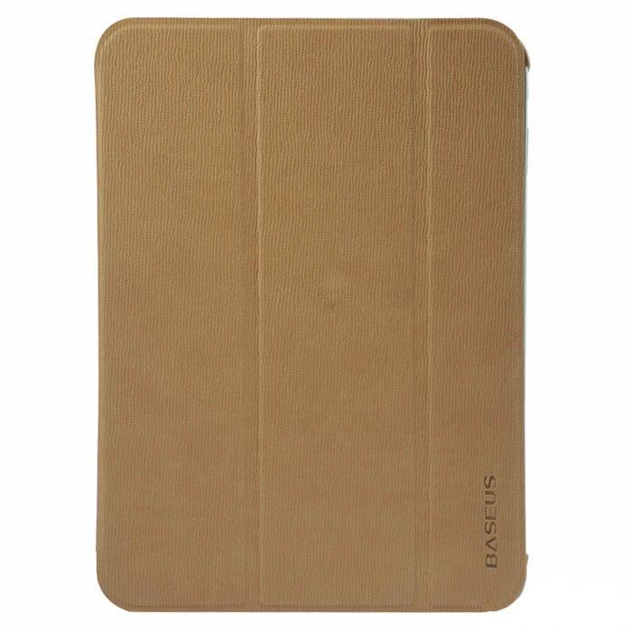 Чехол (книжка) BASEUS Folio коричневый для Samsung Tab 3 10.1