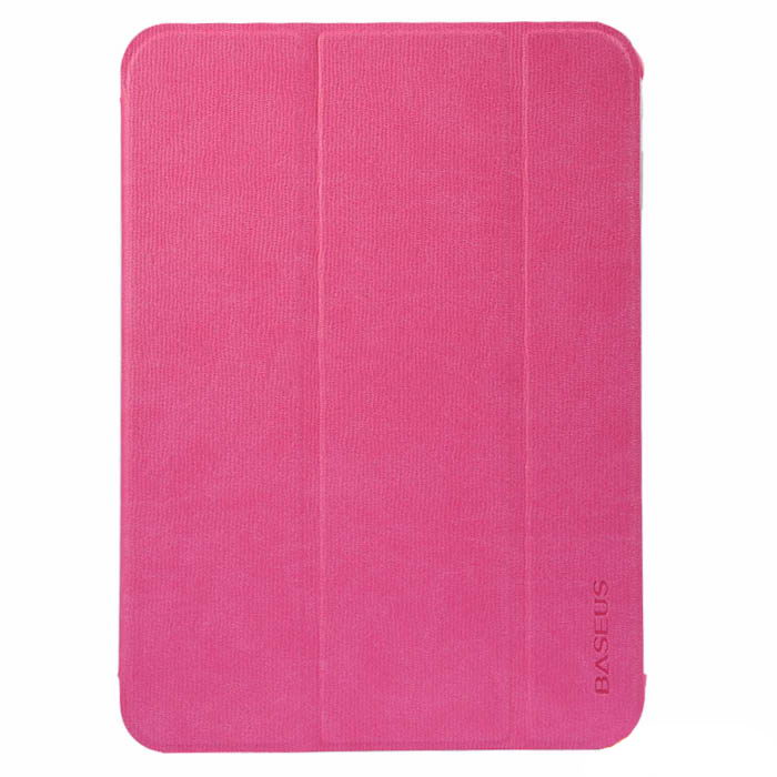 Чехол (книжка) BASEUS Folio розовый для Samsung Tab 3 10.1