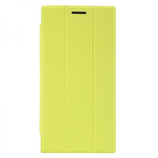 Чехол (книжка) Baseus Folio зеленый для Lenovo K900