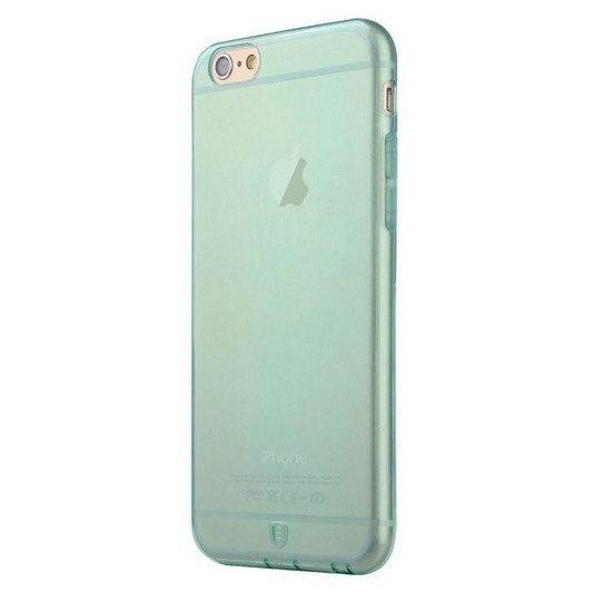 Полупрозрачный чехол Baseus Simple зеленый для iPhone 6