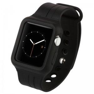 Ремешок Baseus Fresh Color Plus черный для Apple Watch 38 мм