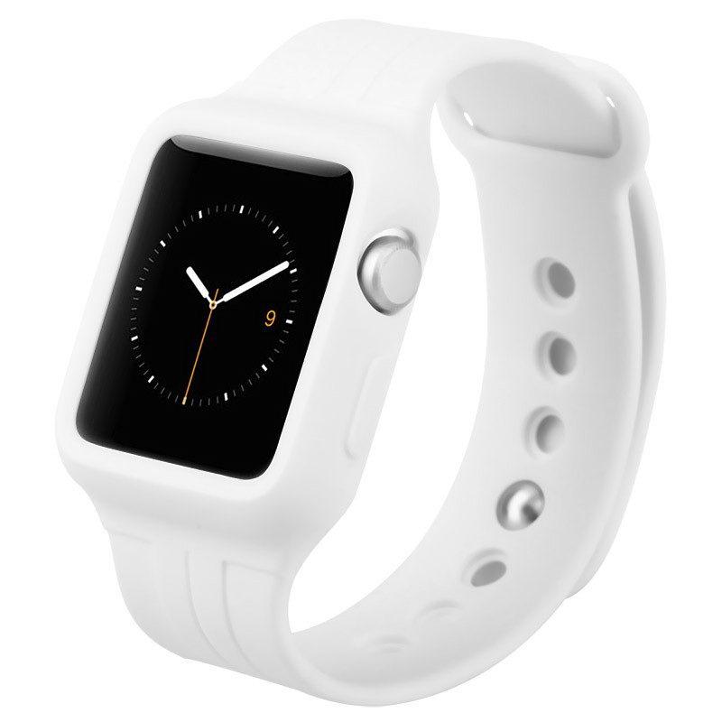 Ремешок Baseus Fresh Color Plus белый для Apple Watch 38 мм