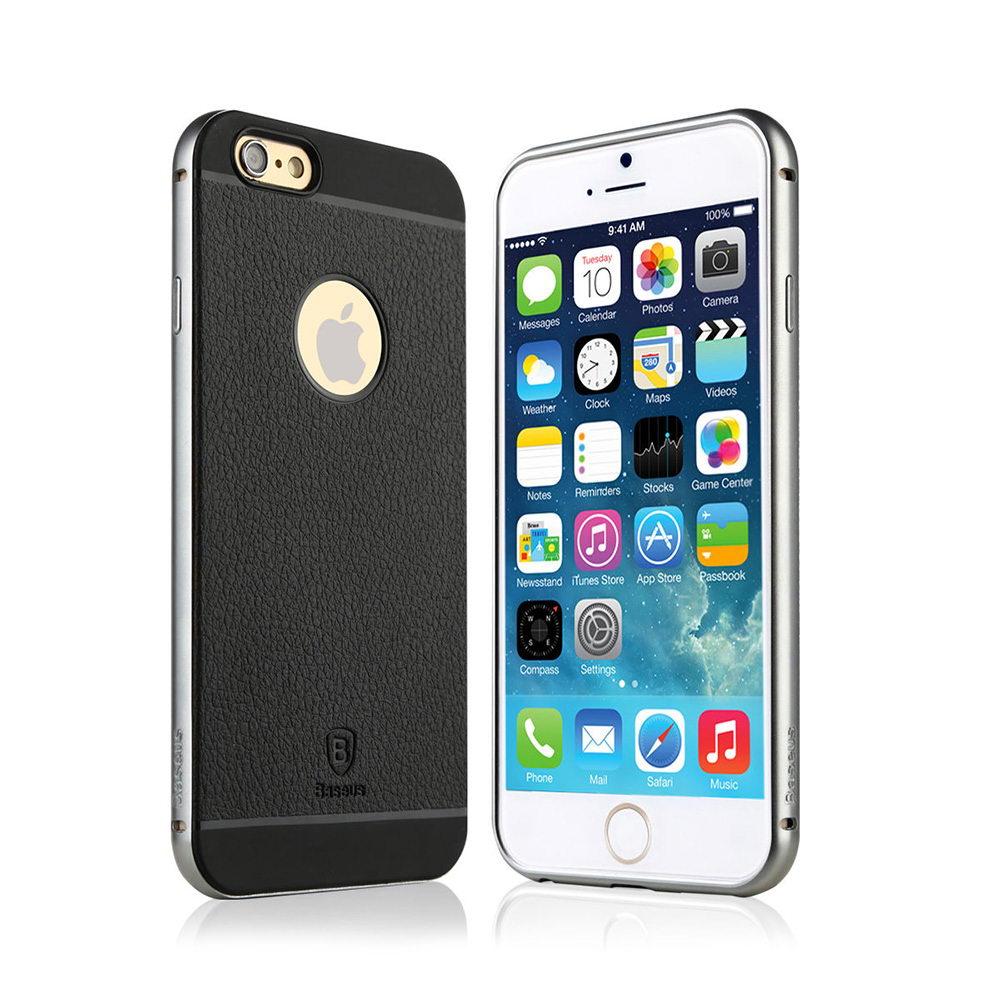 Чехол Baseus Fusion Pro серебристый для iPhone 6/6S
