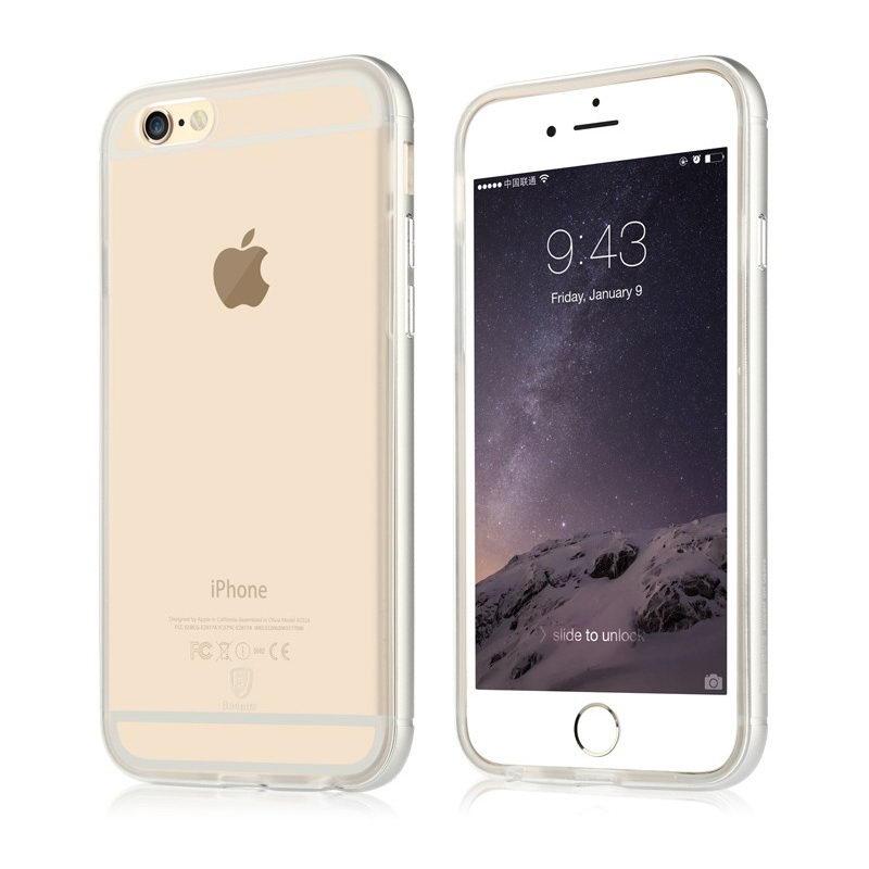 Чехол Baseus Golden прозрачный для iPhone 6 Plus/6S Plus