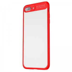 Чехол с зеркалом Baseus Mirror красный для iPhone 8 Plus/7 Plus