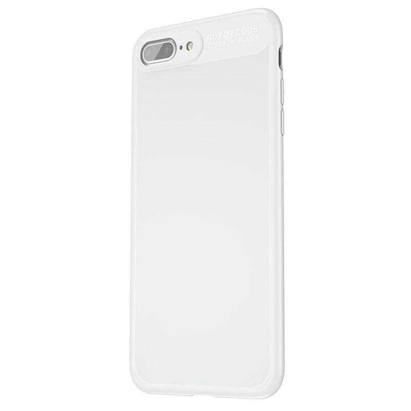 Чехол с зеркалом Baseus Mirror белый для iPhone 8 Plus/7 Plus