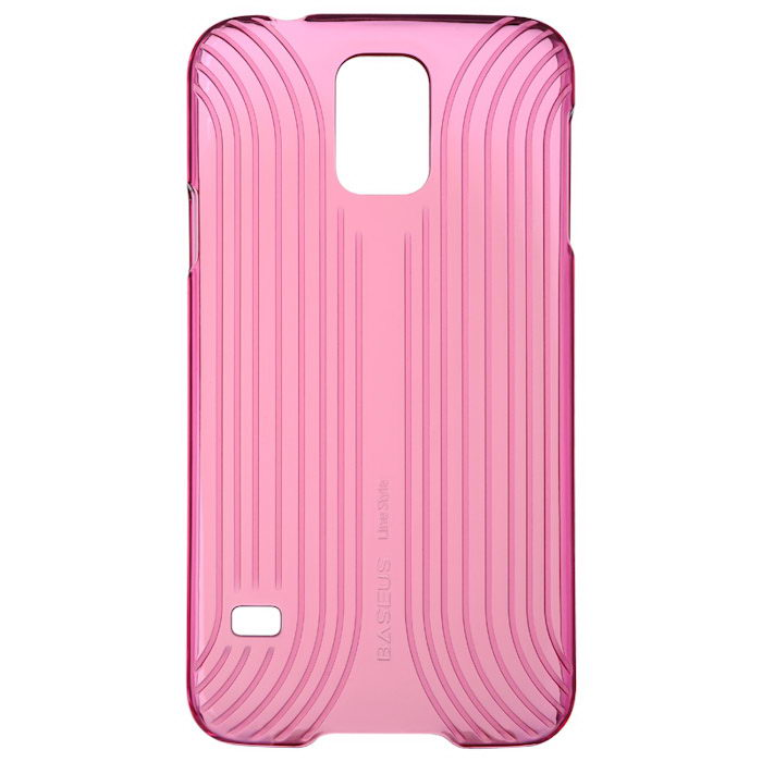 Чехол BASEUS Line Style розовый для Samsung Galaxy S5