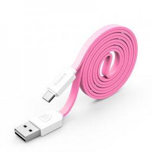 Micro-USB Кабель Baseus String 1м, розовый + белый