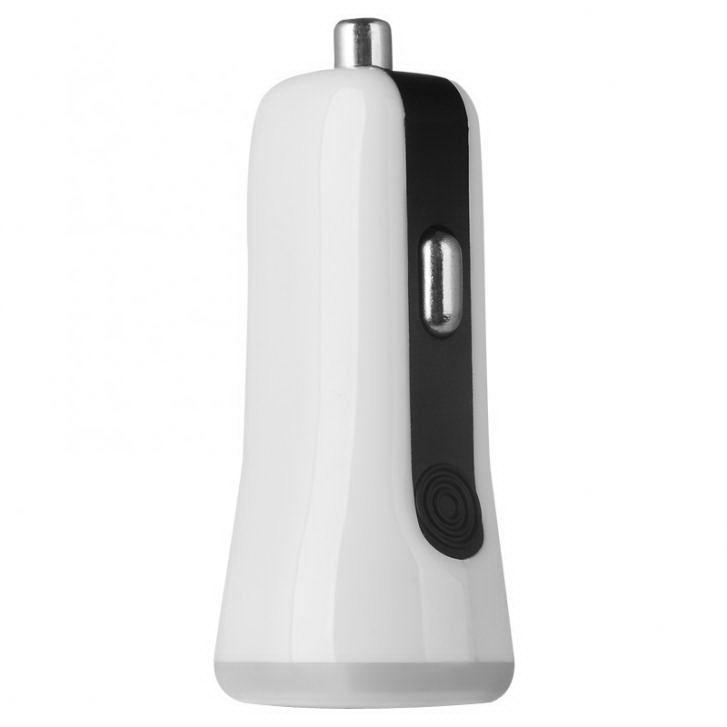 Автомобильное зарядное устройство Baseus Tiny 2 USB белое