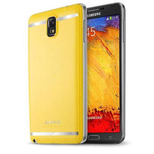 Чехол BASEUS Yuppie желтый для Samsung Note 3