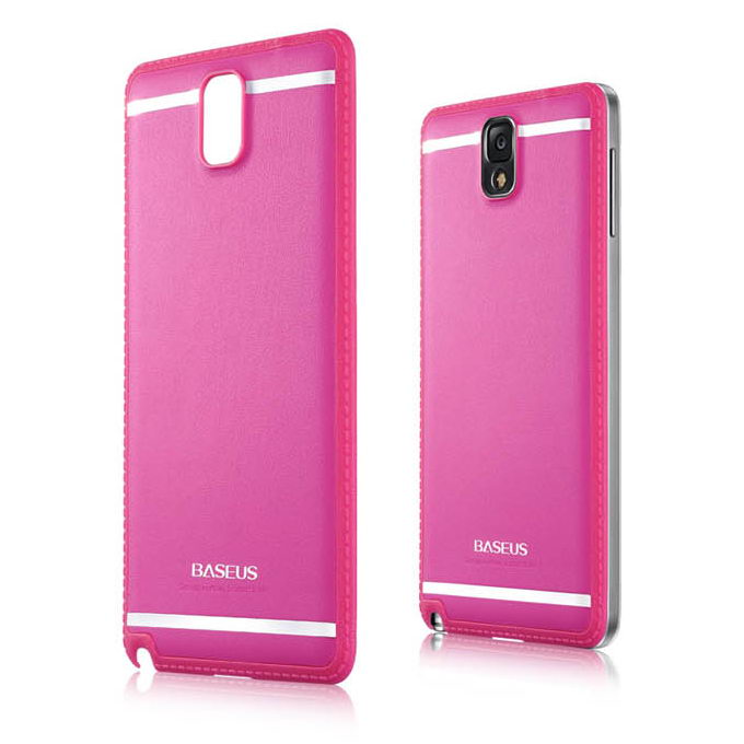 Чехол BASEUS Yuppie розовый для Samsung Note 3