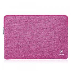 """Чехол (карман) Baseus розовый для ноутбуков 15"""""""
