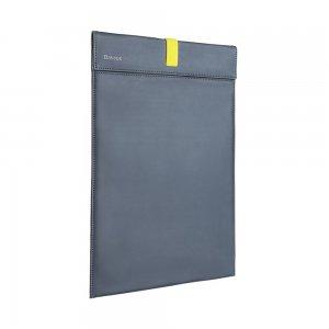 """Чехол (карман) Baseus Let's Go Traction Computer Liner Bag серый + желтый для ноутбуков диагональю до 16"""""""