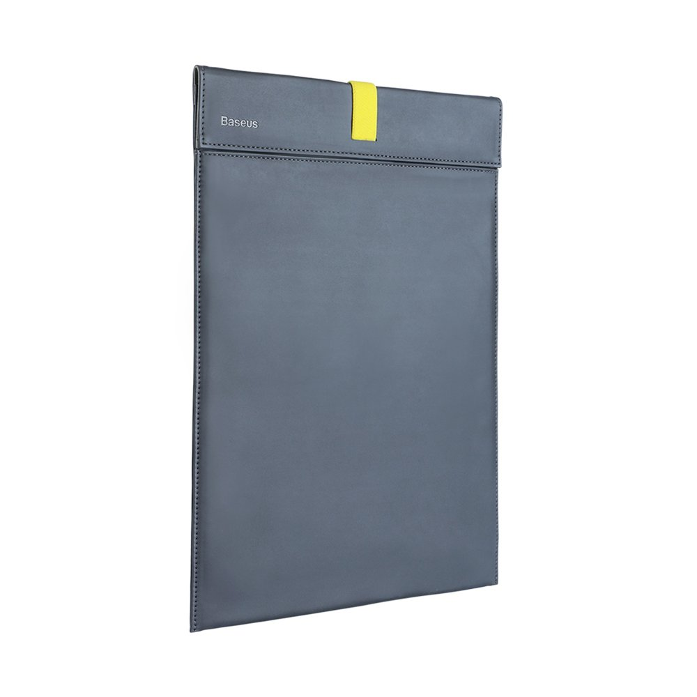 """Чехол (карман) Baseus Let's Go Traction Computer Liner Bag серый + желтый для ноутбуков диагональю до 13"""""""
