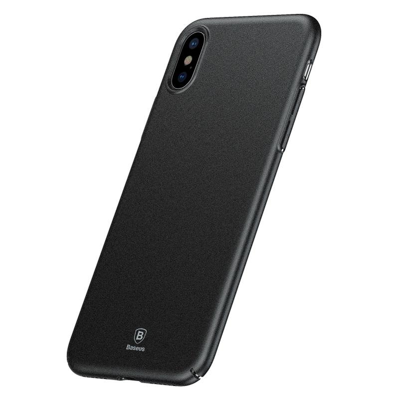 Чехол Baseus Meteorite черный для iPhone X