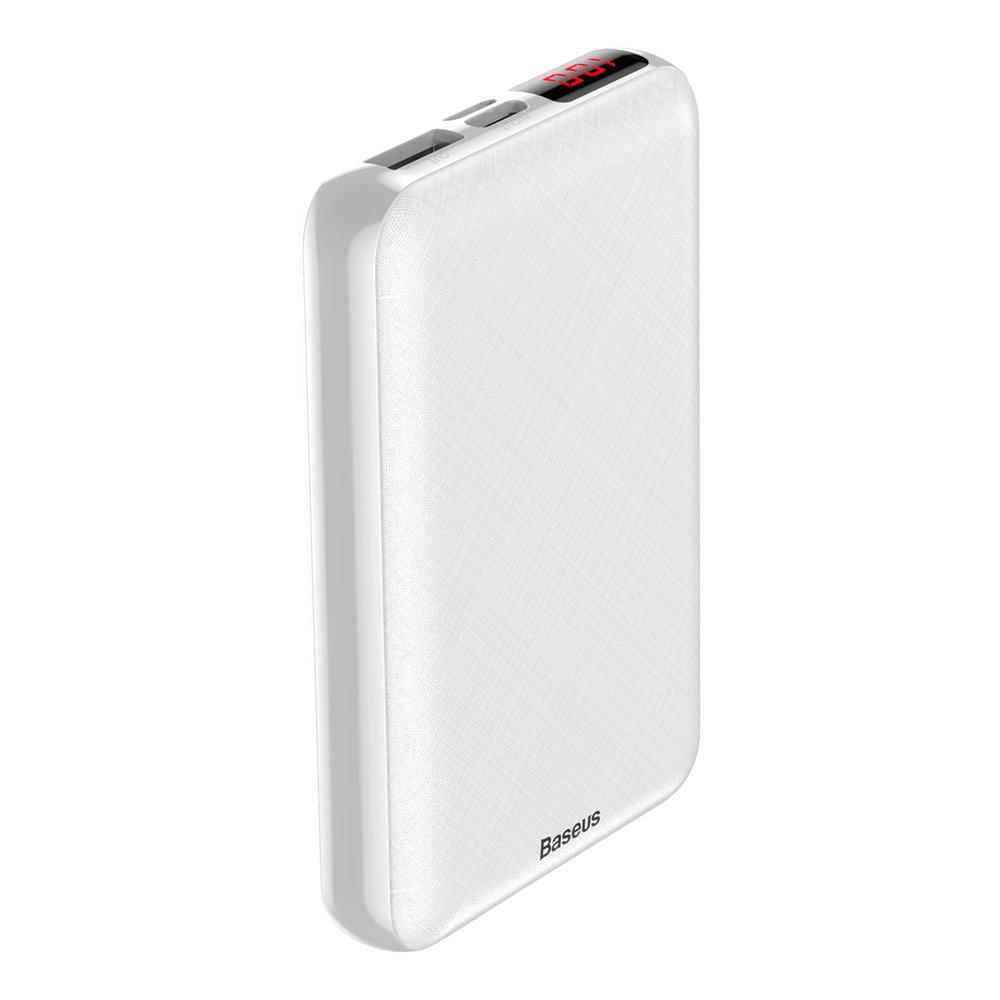 Внешний аккумулятор Baseus Mini S Digital Display Powerbank 10000mAh PD белый