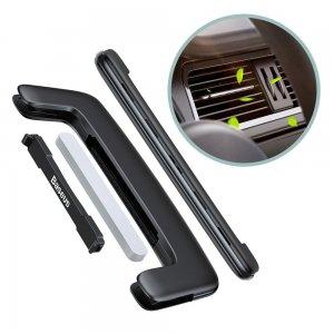 Автомобильный освежитель воздуха Baseus Paddle car air freshener черный (SUXUN-BP01)