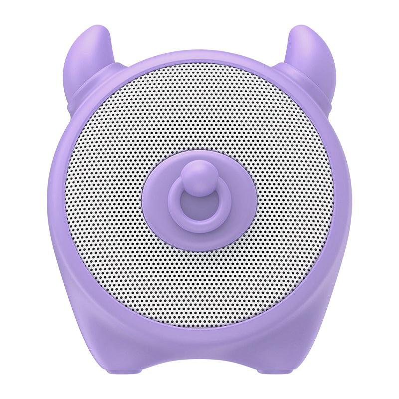 Портативная колонка Baseus Q Chinese Zodiac Wireless Cow E06 фиолетовая