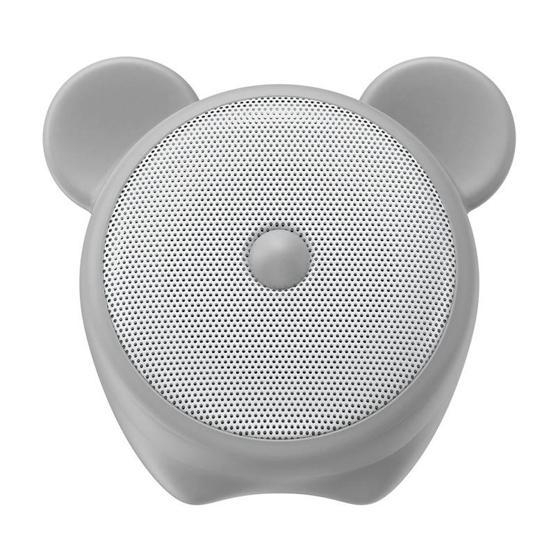Портативная колонка Baseus Q Chinese Zodiac Wireless Mouse E06 серая