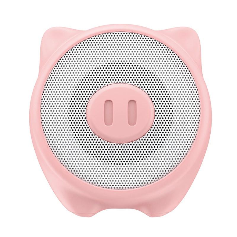Портативная колонка Baseus Q Chinese Zodiac Wireless Pig E06 розовая