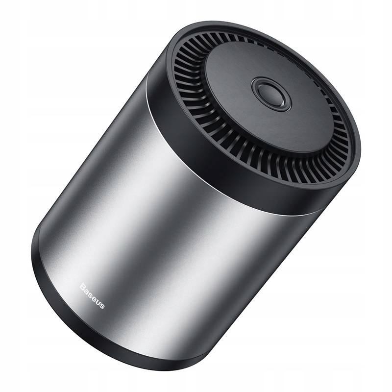 Автомобильный освежитель воздуха Baseus Ripple Car CupHolder Air Freshener серебристый (SUXUN-BW0S)