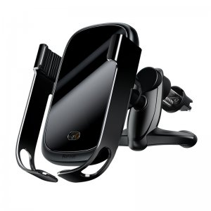 Автомобильное беспроводное зарядное устройство Baseus Rock-Solid Electric чёрный