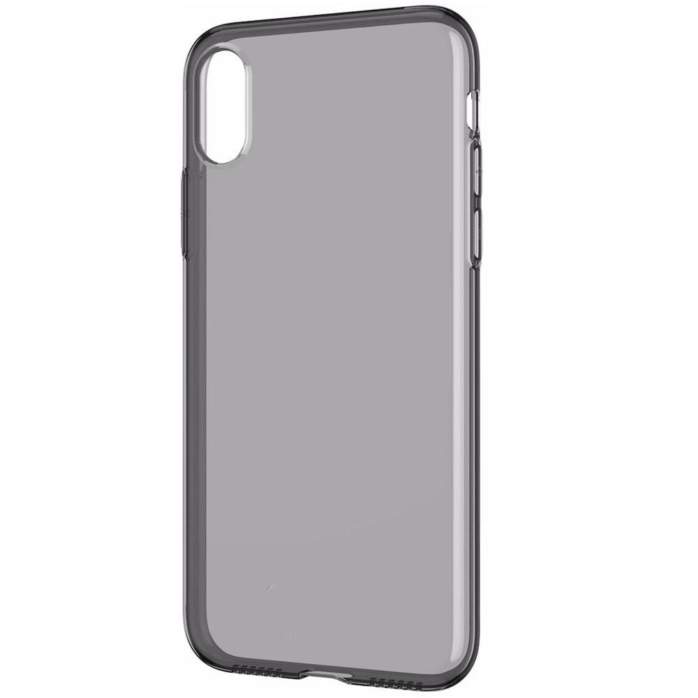 Полупрозрачный чехол Baseus Simplicity Series (basic model) чёрный для iPhone XS Max