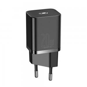 Сетевое зарядное устройство Baseus Super Si Quick Charger 1C 20W (CCSUP-B01) черное